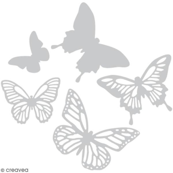 Set de matrices Sizzix Thinlits - Papillons - 5 pcs - Photo n°1