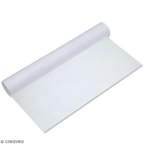 Rouleau de papier adhésif thermocollant double-face - 1 x 1 m - Photo n°1