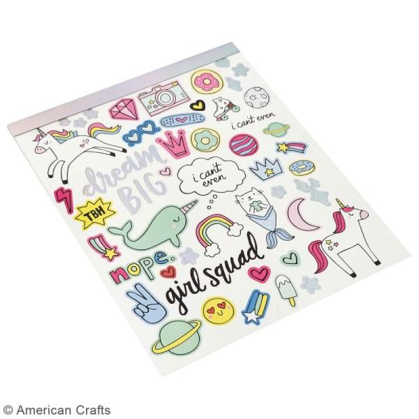 Carnet de stickers Hello Dreamer - détail foil - 206 pcs - Photo n°2