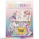 Assortiment Die cut - Hello Dreamer - 41 pcs
