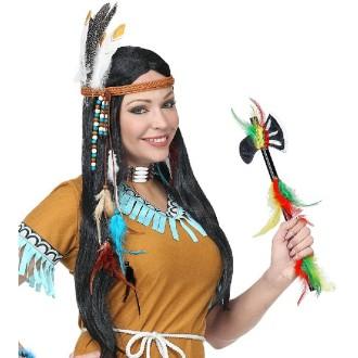 Tomahawk d indien plastifié 30 cm