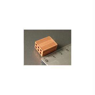 Briques creuses, 25 pièces 20 x 15 x 10 mm - Echelle 1/10