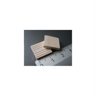 Tuiles plates ou Carreaux blancs, 150 pièces 15 x 15 x 2 mm - Echelle 1/20