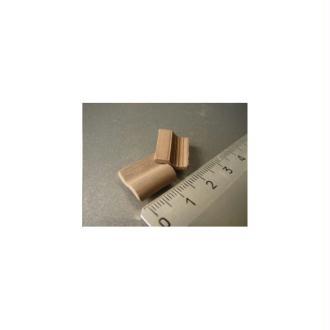 Tuiles Romanes grises, 150 pièces 15 x 11 x 4 mm - Echelle 1/20