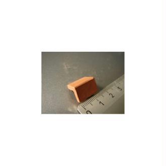 Marches d'escalier rouges, 25 pièces 15 x 13 x 8 mm - Echelle 1/20