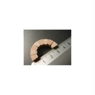 Briques Voussoir 35 x 17 mm blanches, 50 pièces