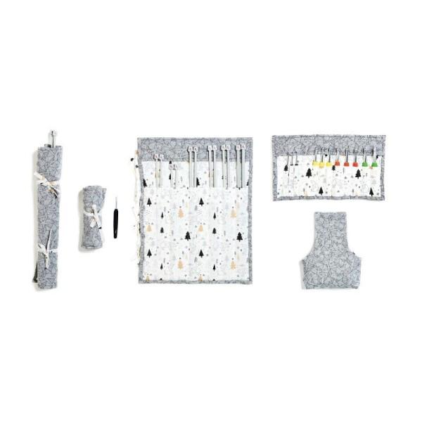 PATRON Kit de rangement pour aiguilles et crochets A6/2318 - Photo n°1