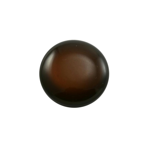Cabochon rond polaris 12 mm chocolat - Photo n°1