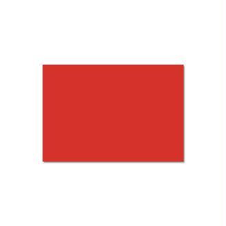 Papier Pollen carte 110 x 155 Rouge corail x 25