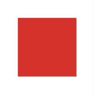 Papier Pollen carte 135 x 135 Rouge corail x 25