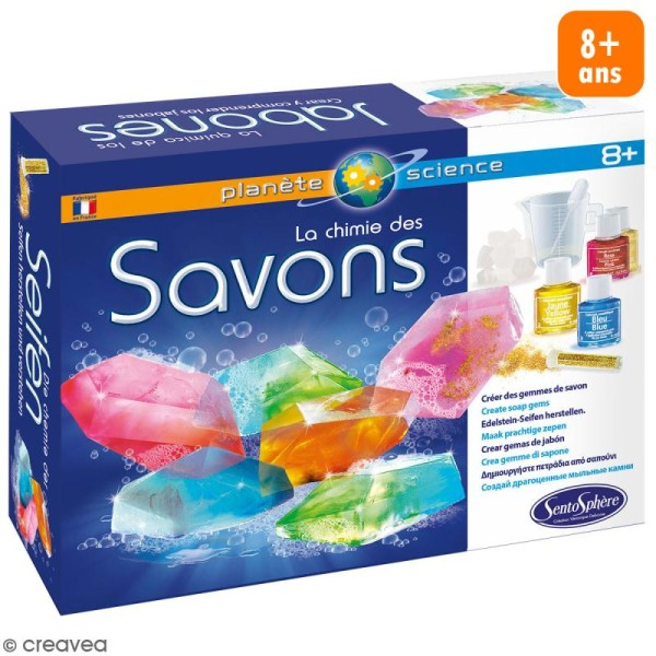 Kit créatif La chimie des savons - Photo n°1