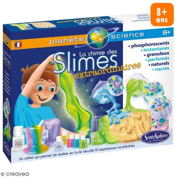 Kit créatif La chimie des Slimes extraordinaires - Photo n°1