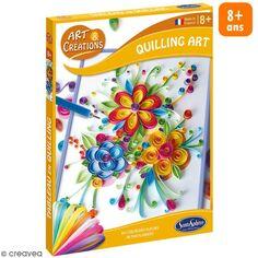 Coffret Art & Creations - Kit Quilling - Fleurs