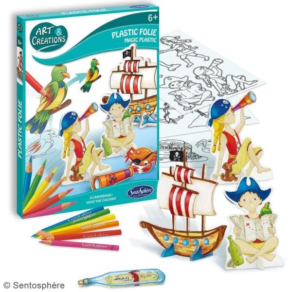 Coffret Art & Créations - Kit plastique fou - Pirates - Photo n°2