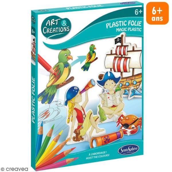 Coffret Art & Créations - Kit plastique fou - Pirates - Photo n°1