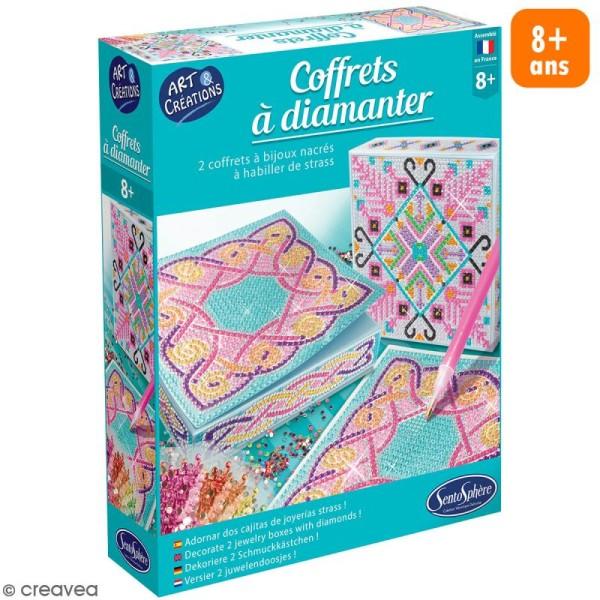 Coffret Art & Créations - Coffrets à diamanter - Motifs nordiques - Photo n°1