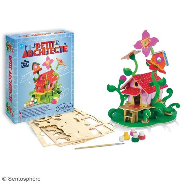 Kit puzzle 3D Petit Architecte - Maison dans les fleurs - Photo n°2