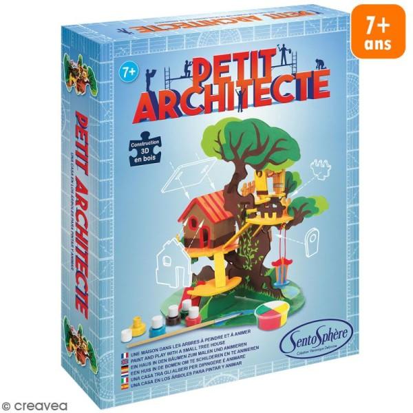 Kit puzzle 3D Petit Architecte - Maison dans les arbres - Photo n°1