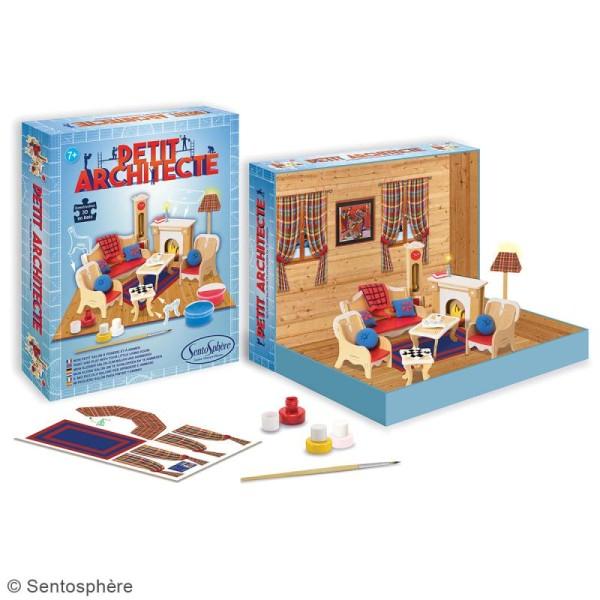 Kit puzzle 3D Petit Architecte - Mon petit salon - Photo n°2
