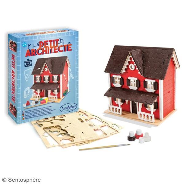 Kit puzzle 3D Petit Architecte - Maison scandinave - Photo n°2