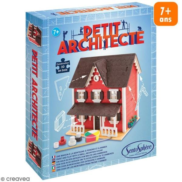 Kit puzzle 3D Petit Architecte - Maison scandinave - Photo n°1