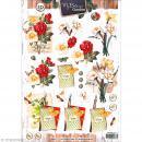 Carte 3D à découper - Botanique carnet jardinage - A4 - Photo n°1