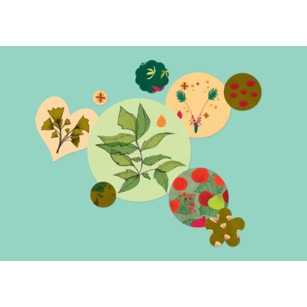 Gommettes d'Artistes Botanica 600 stickers Mon Petit Art - Photo n°2