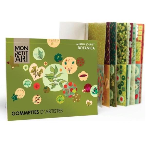 Gommettes d'Artistes Botanica 600 stickers Mon Petit Art - Photo n°1