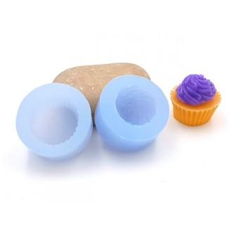 Moule Cupcake En Silicone 2 Parties