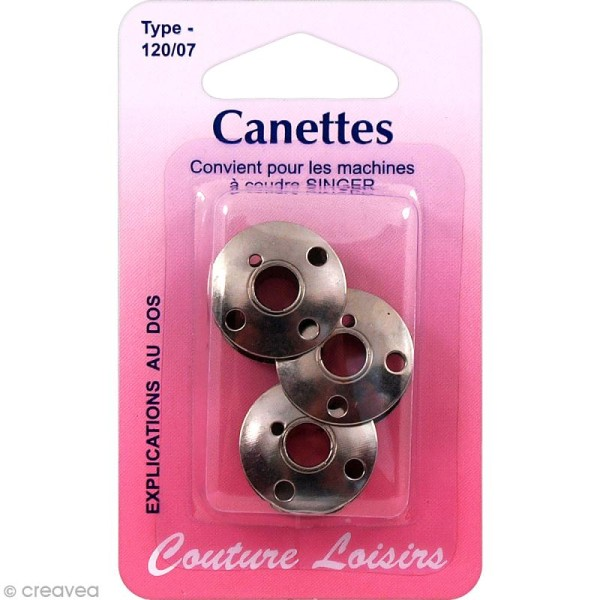 CANETTES POUR MACHINE A COUDRE SINGER
