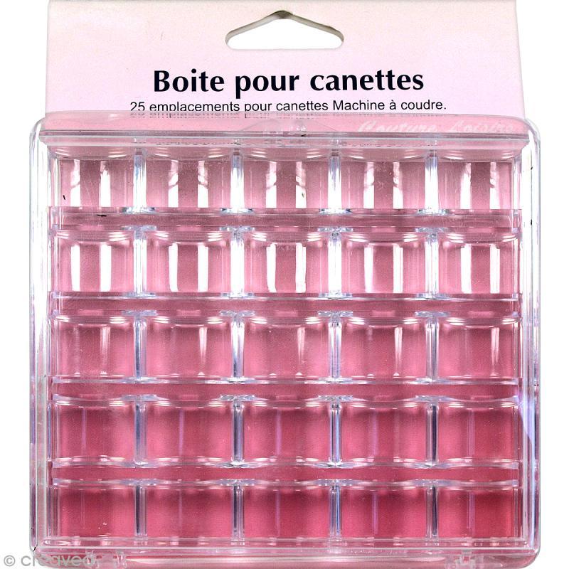 Bo te de rangement en plastique pour 25 canettes canette for Boite de couture plastique