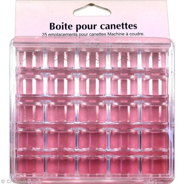 Boîte de rangement en plastique pour 25 canettes - Photo n°1