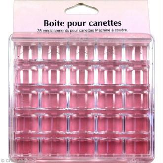 Boîte de rangement en plastique pour 25 canettes