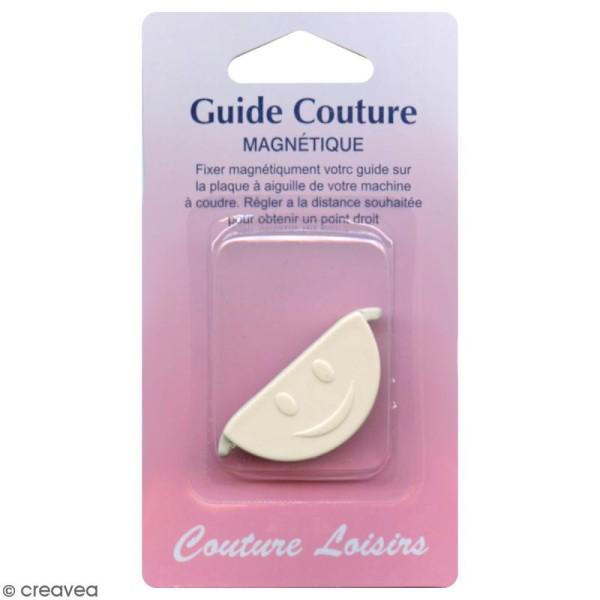 Guide de couture point droit magnétique pour machine à coudre - Photo n°1