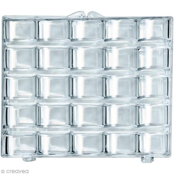Boîte de rangement 25 canettes en plastique - Photo n°1