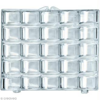 Boîte de rangement 25 canettes en plastique