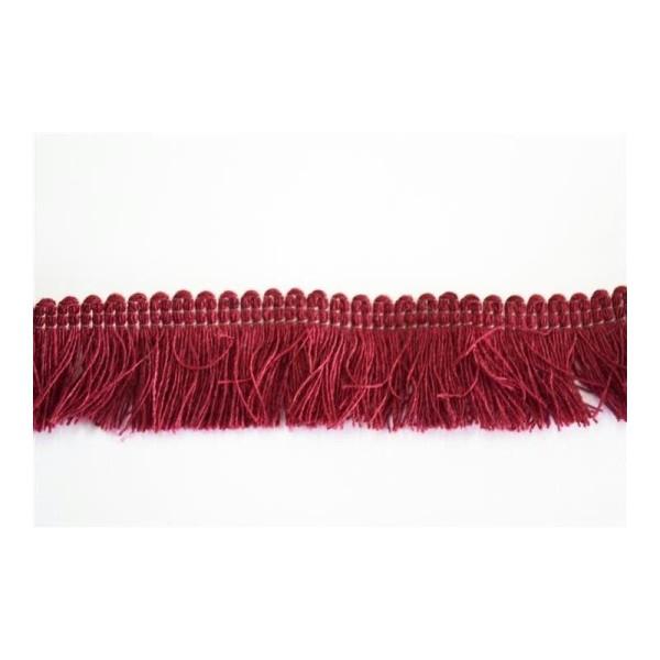 Galon coton à franges 25mm - Photo n°1