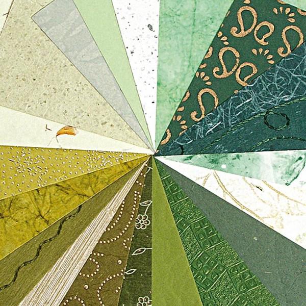 Papier du monde A4 20 feuilles vert - Photo n°1