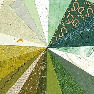 Papier du monde A4 20 feuilles vert