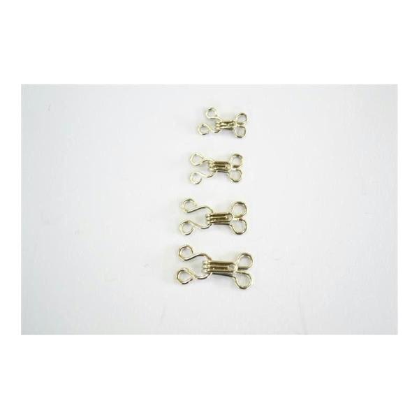 Agrafe métal en 2 parties - Photo n°1