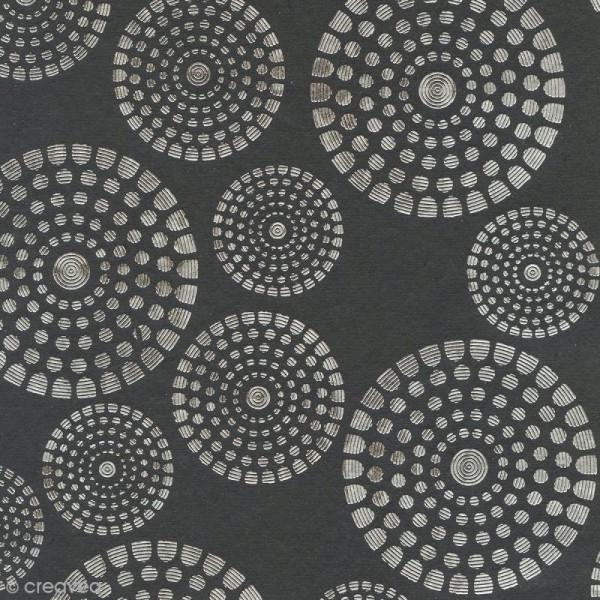 Papier du monde A4 20 feuilles noir - Photo n°4