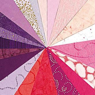 Papier du monde A4 20 feuilles violet et rose