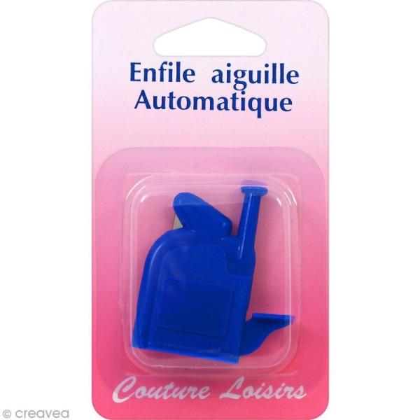 Enfile aiguille automatique - Bleu - Photo n°1