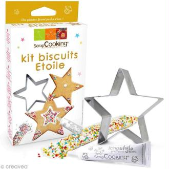 Kit biscuits étoile