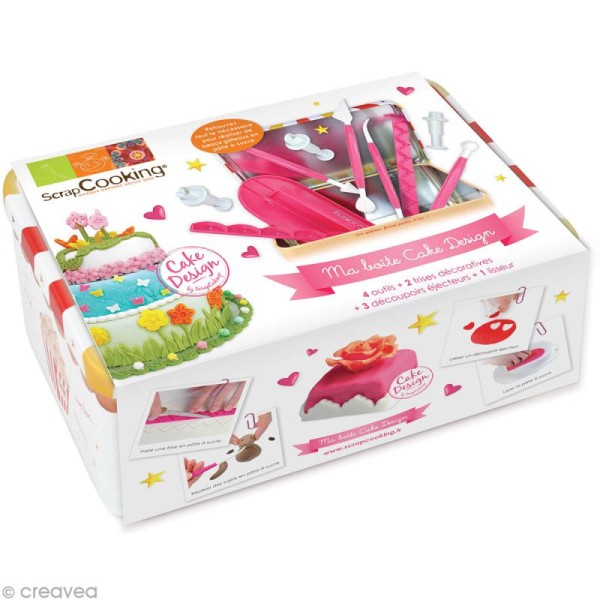 Kit cuisine créative - Ma boîte cake design - Photo n°1