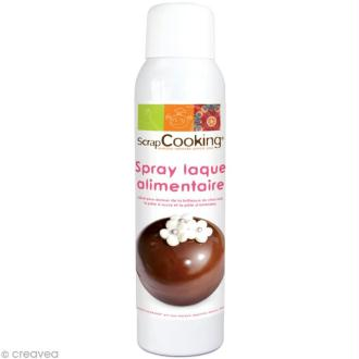 Vernis alimentaire en spray - 150 ml