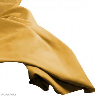 Tissu uni Jaune citron (CITRUS) 100% coton - Largeur 114 cm - Par 10 cm (sur mesure)
