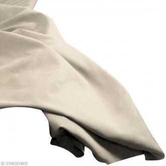 Tissu uni Gris clair (SAND DUNE) 100% coton - Largeur 114 cm - Par 10 cm (sur mesure)
