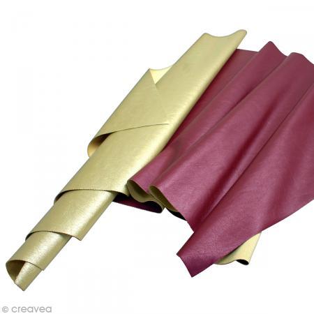 Coupon simili cuir 50 x 30 cm - Photo n°1