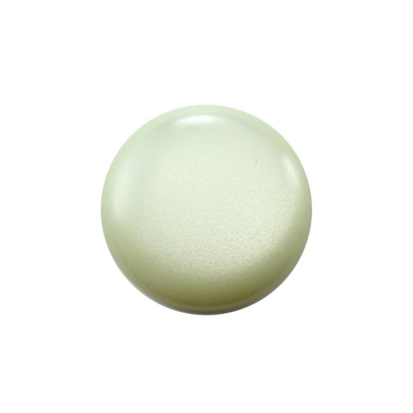Cabochon rond polaris 24 mm vert poudré - Photo n°1